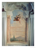 Landscape with Cupid, from the Foresteria Giclee Print by Giandomenico Tiepolo