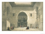 Interior of the Mosque of Sultan Hasan, Cairo, from Egypt and Nubia, Vol.3 Giclée-Druck von David Roberts