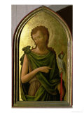 St. John the Baptist, Panel from Polyptych Removed from the Church of St. Francesco in Padua, 1451 Giclée-Druck von Antonio Vivarini