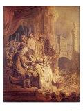 Ecce Homo, 1634 Giclee Print by  Rembrandt van Rijn