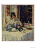 After Lunch at the Moncia, c.1900 Reproduction proc&#233;d&#233; gicl&#233;e par Guillaume Apollinaire