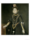 Infanta Catalina Micaela, Duchess of Savoy Giclée-tryk af Sofonisba Anguisciola