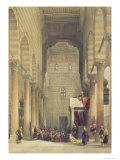 Interior of the Mosque of the Metwalys, Cairo, from Egypt and Nubia, Vol.3 Giclee Print by David Roberts