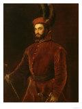 Portrait of Ippolito De' Medici Giclee Print by  Titian (Tiziano Vecelli)