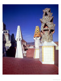 View of the Chimneys on the Eastern Sector of the Roof of the Palace, 1885-89 Giclee-trykk av Antoni Gaudí