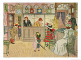 The Jewellery Shop, from The Book of Shops, 1899 Giclee Print by Francis Donkin Bedford