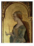 St. Mary Magdalene, Detail from the Santa Lucia Triptych Giclee Print by Carlo Crivelli