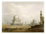 Tombs: Kings of Golconda, 1813, Etched Willis, Engraved Hunt, c.1826 Giclee Print by Captain Robert M. Grindlay