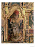 St. Martin, Detail from the San Martino Polyptych Giclee Print by Carlo Crivelli
