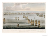 Battle of Trafalgar, Oct. 21, 1805, Engraved by Sutherland For Jenkins&#39;s Naval Achievements, c.1817 Giclee Print by Thomas Whitcombe