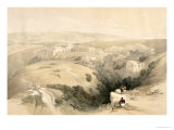 Bethlehem, April 6th 1839, Plate 85 from Volume II of The Holy Land, Engraved by Louis Haghe Giclee Print by David Roberts