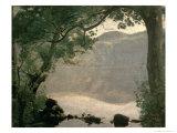 Lake Nemi, 1843 Giclee Print by Jean-Baptiste-Camille Corot