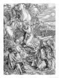 Agony in the Garden from the Great Passion Series, Pub. 1511 Giclee Print by Albrecht Dürer
