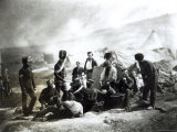 Soldiers in the Crimea, c.1855 Photographic Print by Roger Fenton