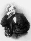 Portrait of Hector Berlioz Photographic Print by Pierre Petit