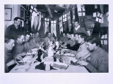 Captain Scott's Last Birthday Dinner June 6th 1911, from Scott's Last Expedition Photographic Print by Herbert Ponting