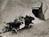 Lord Carnarvon's First Visit to the Valley of the Kings: Lord Carnarvon Photographic Print by Harry Burton