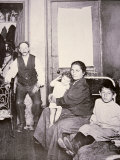 Immigrant Family, Lower East Side, New York City, c.1910 Photographic Print by Jacob August Riis