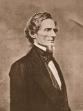 Jefferson Davis Photographic Print