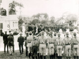 Unveiling of War Memorial, Port of Spain, Trinidad, c.1920 Photographic Print
