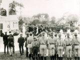 Unveiling of War Memorial, Port of Spain, Trinidad, c.1920 Photographic Print