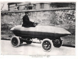 Electrical Racing Car Jenatzy La Jamais Contente, c.1900 Photographie