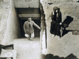 Lady Ribblesdale and Mr Stephen Vlasto at the Tomb of Tutankhamun, Valley of the Kings, 1923 Photographic Print by Harry Burton