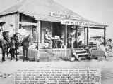 Judge Roy Bean Photographic Print