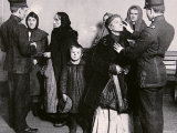 Newly Arrived Immigrants Undergoing Medical Examination on Ellis Island, New York, c.1910 Photographic Print