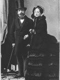 Emperor Napoleon III and Empress Eugenie, c.1865 Photographic Print by Andre Adolphe Eugene Disderi