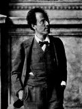 Portrait of Gustav Mahler Photographie
