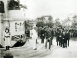 The Unveiling of the War Memorial, Port of Spain, Trinidad, 1920 Photographic Print