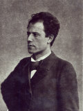Portrait of Gustav Mahler, 1897 Photographic Print