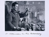 Dr. Atkinson in His Laboratory, from Scott's Last Expedition Photographic Print by Herbert Ponting