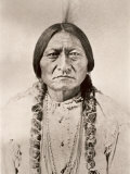 Sitting Bull Photographic Print by David Frances Barry