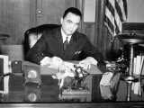 J. Edgar Hoover Photographic Print