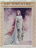 Mary Garden Photographic Print by Reutlinger Studio 