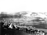 Allied Encampment, Crimea, c.1855 Photographic Print by Roger Fenton