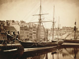 The Imperial Yacht La Reine Hortense at Le Havre, 1856 Photographic Print by Gustave Le Gray