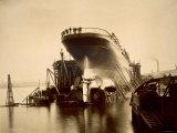 RMS Campania, 1892 Photographic Print