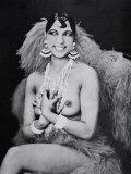 Josephine Baker Fotografisk trykk
