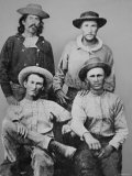 Pony Express Riders, c.1860, Photographic Print