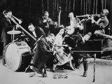 King Oliver's Creole Jazz Band, 1920 Fotografie-Druck