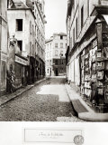Rue de L'Arbalete, from the Rue Mouffetard, Paris, 1858-78 Photographic Print by Charles Marville