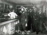 Soapy Smith's Saloon Bar at Skagway, Alaska, 1898 Photographie