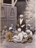 Arab School in Cairo c.1900 Photographic Print