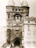 The Porte de La Grosse Cloche in Bordeaux, c.1851 Photographic Print by Henri Jean-louis Le Secq