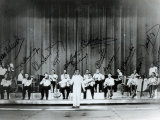 Ray Ventura and His Jazz Band in the Thirties Photographic Print