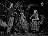 Portrait of the Rossetti Family, 1864 Photographic Print by Charles Lutwidge Dodgson