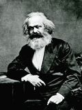 Portrait of Karl Marx Photographic Print
